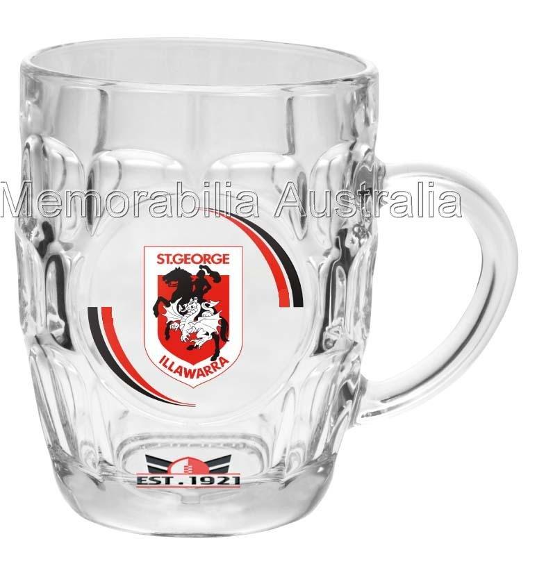 St George Illawarra Dragons, NRL Dimpled Stein Glass
