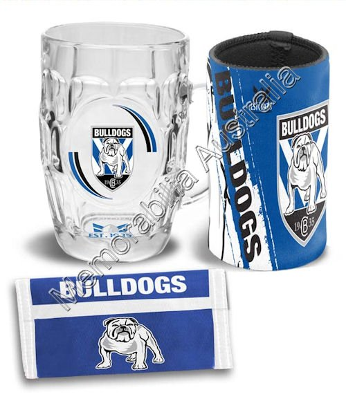 Canterbury Bulldogs NRL Supporter Pack