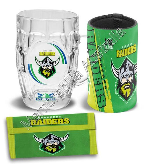 Canberra Raiders NRL Supporter Pack