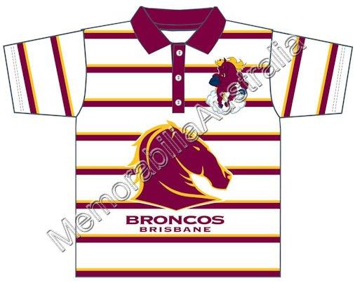 Broncos NRL Infants Polo Shirt