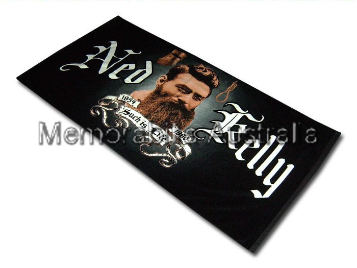 Ned Kelly Beach Towel