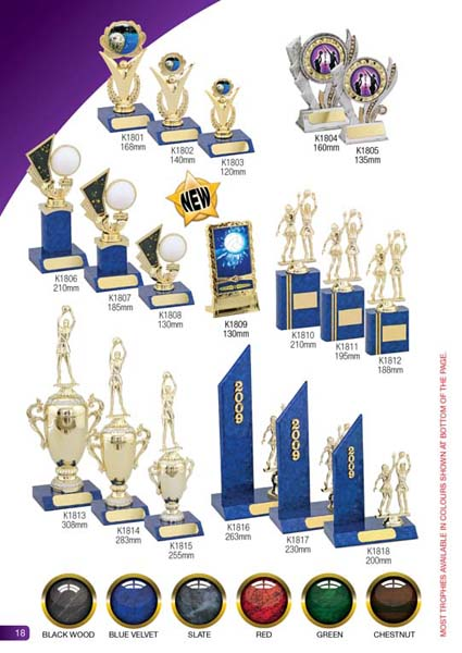 Netball Trophies 3