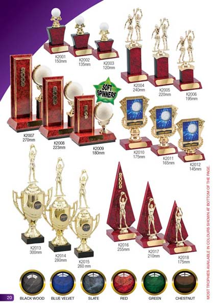 Netball Trophies 5