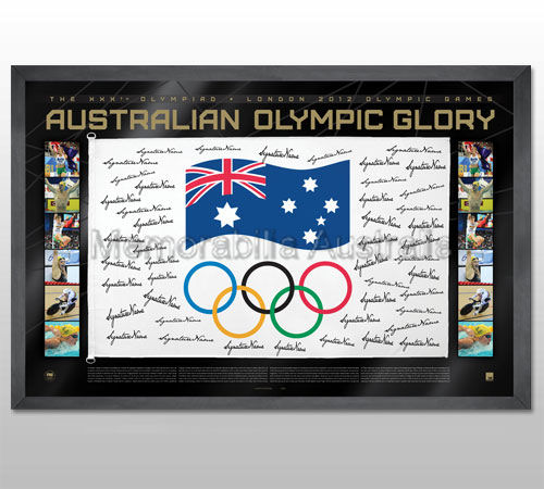 2012 Olympic gold Medallists Flag