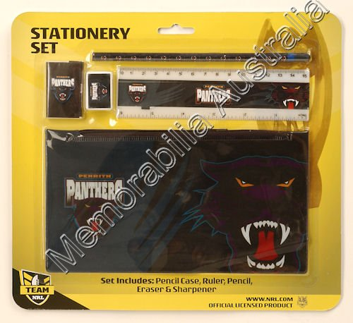 Penrith Panthers NRL Stationery Set