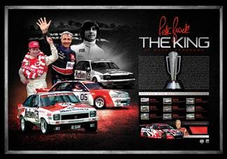 The King Peter Brock Tribute Lithograph
