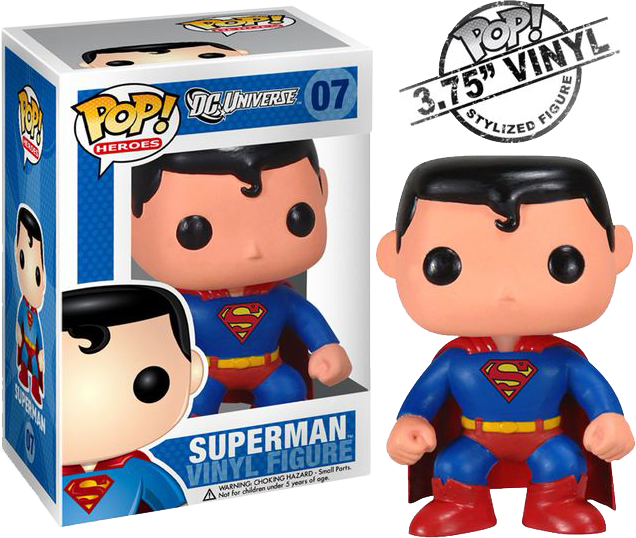 Superman - Pop! Heroes Vinyl Figure
