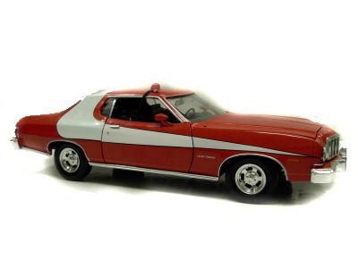 1:18 1975 Ford Torino Starsky & Hutch