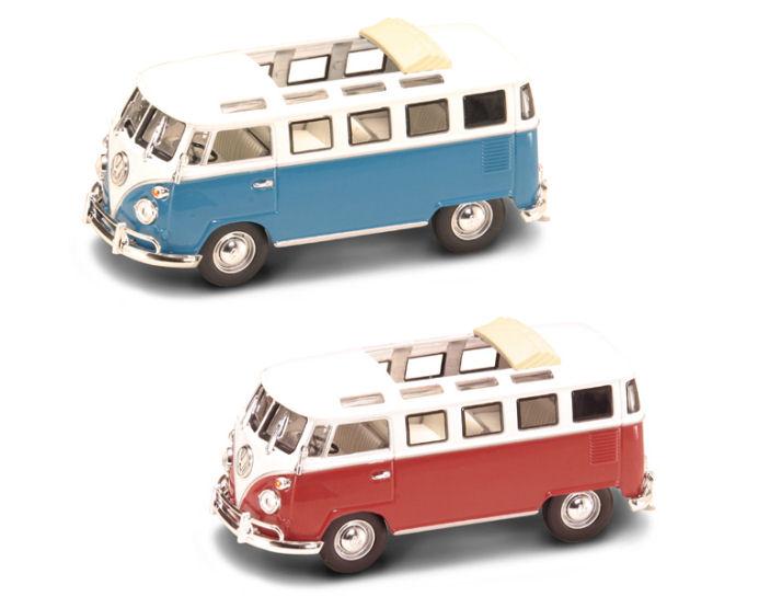1:43 1962 VW Microbus w/Sunroof  Asst