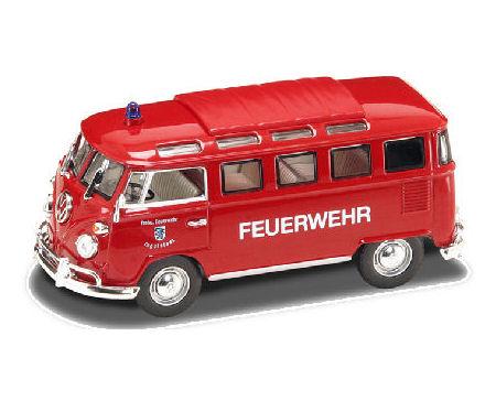 1:43 1962 VW Microbus Fire  Asst