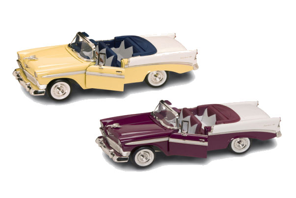 1:18  1956  Chevy Convertible