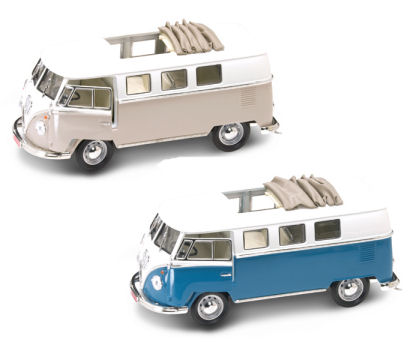 1:18  1962 VW Microbus With Sunroof