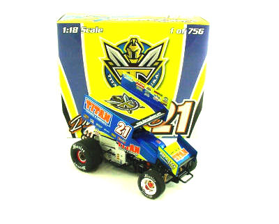 1:18 2008 Sprint Car Pittman Titan Knoxville