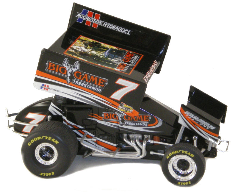 1:18 2010 Sprint Car C.Dollansky Big Game