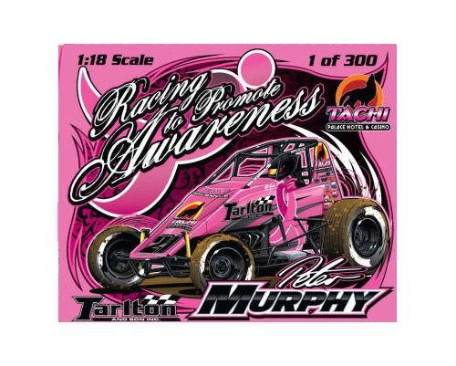1:18 Sprint Car Peter Murphy Breast Cancer Awareness