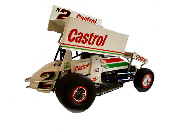 1:64  1998 Sprint Car Castrol Rush