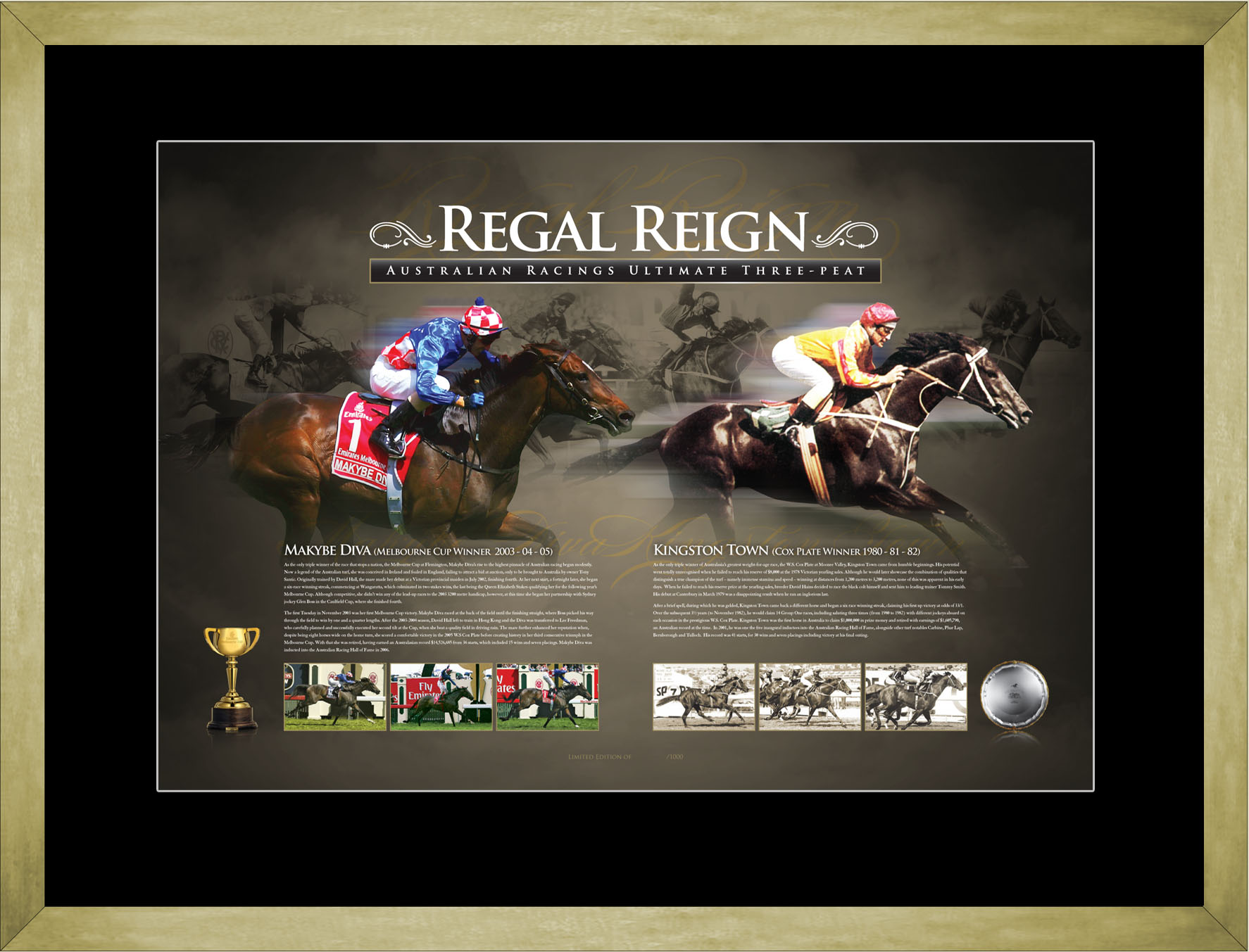 Regal Reign Framed LE Print