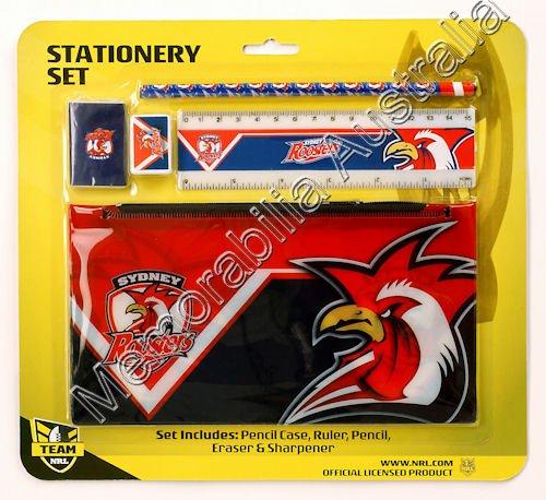 Sydney Roosters NRL Stationery Set