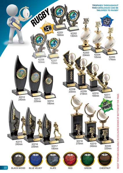 Rugby Trophies 1