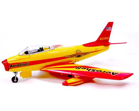 Shell Sabre Jet Plane