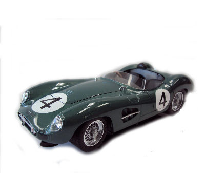 1:18 1959 Aston Martin DBR1 Green #4