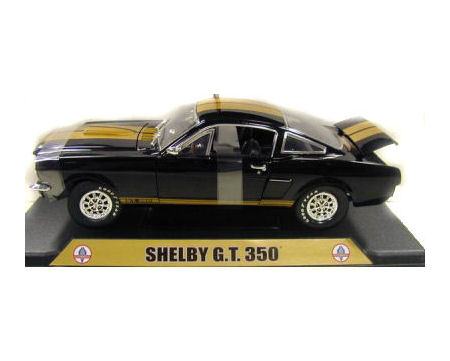 1:18  1966 Ford Shelby Mustang GT350 Black/Gold