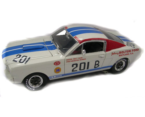 1:18  1966 Ford Shelby Mustang GT350R Shelby Race Car