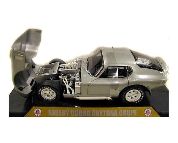 1:18 1965 Cobra Daytona Silver