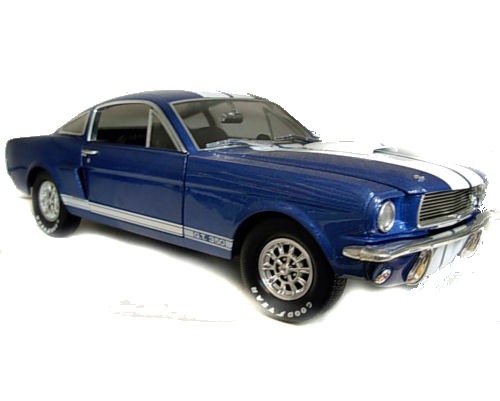 1:18  1966 Ford Shelby Mustang GT350 Street Blue/White