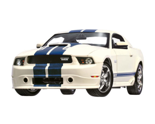 1:18  2011 Ford Shelby Mustang GT350 White/Blue