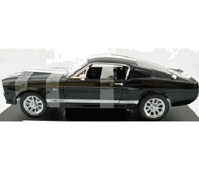 1:18  1967 Ford Shelby Mustang GT500E Black/White