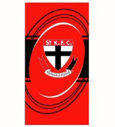 St. Kilda Saints Beach Towel