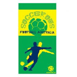 Socceroos Beach Towel