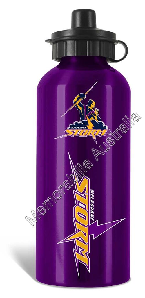 Melbourne Storm  NRL Aluminium Drink Bottle