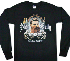 Ned Kelly Long Sleeve Such is Life Tee