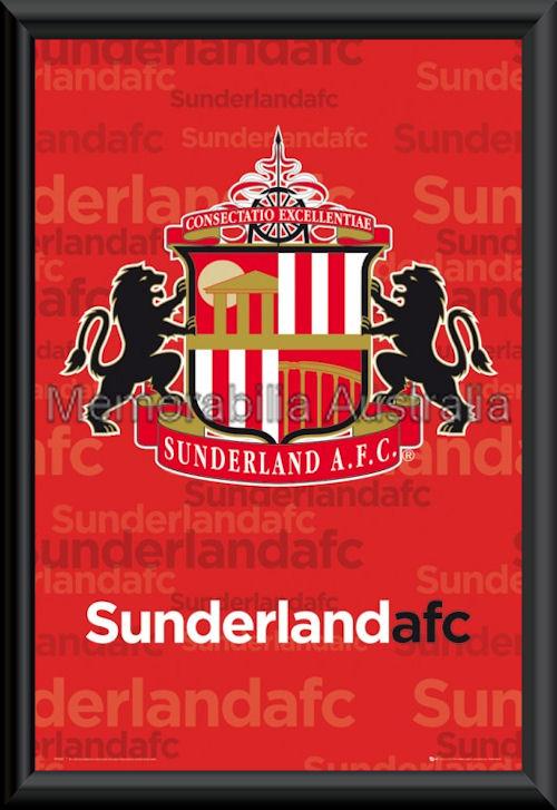 Sunderland Logo Poster framed