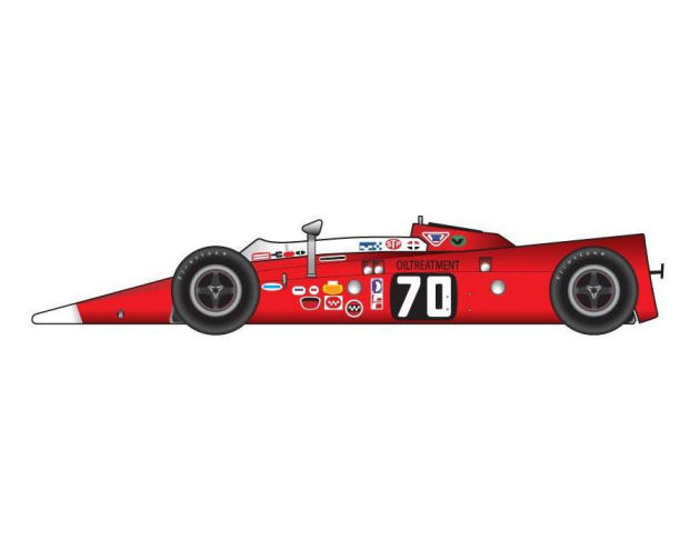 1:18  1968 Lotus 56 Indy Turbine -Indianapolis 500 # 70-Graham Hill/STP