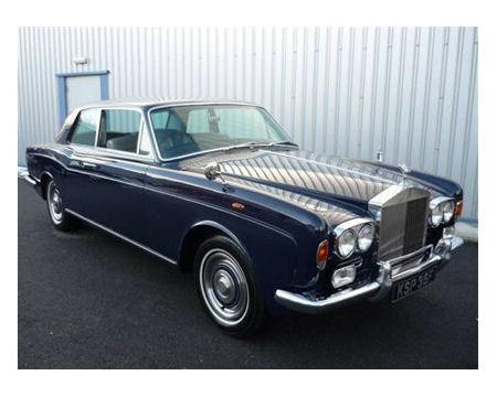1:43  1972 Rolls Royce Corniche Coupe - Dark Blue