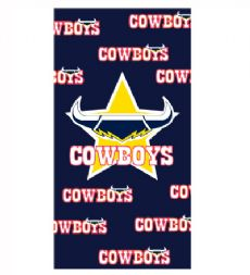 North Queensland Cowboys Beach Towel