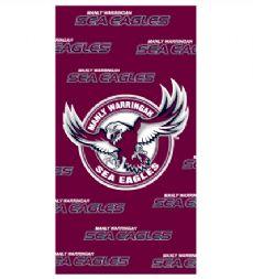 Manly Sea Eagles Beach Towel