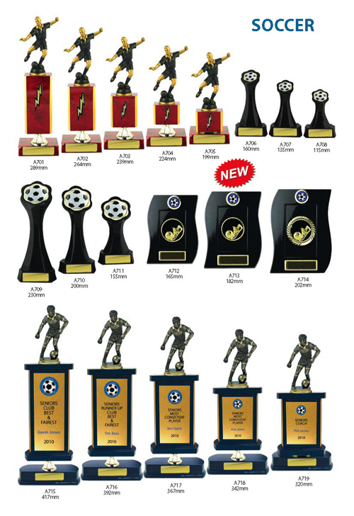 Soccer Trophies 12