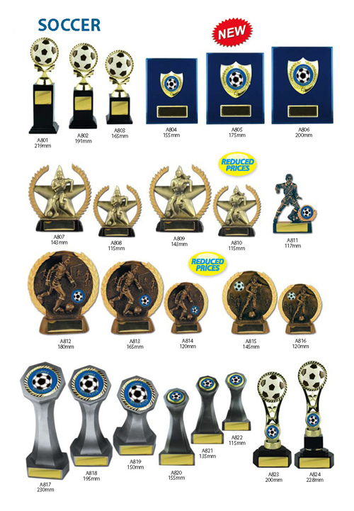 Soccer Trophies 13