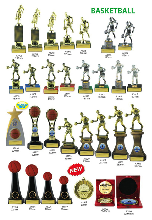 Basketball Trophies 4