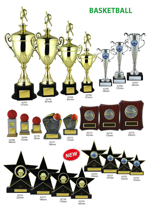 Basketball Trophies 6