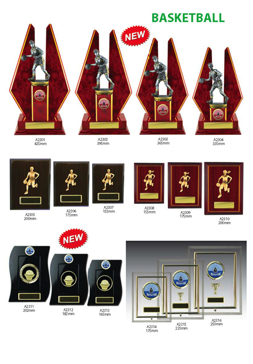 Basketball Trophies 8