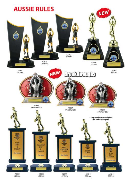 AFL Trophies 11