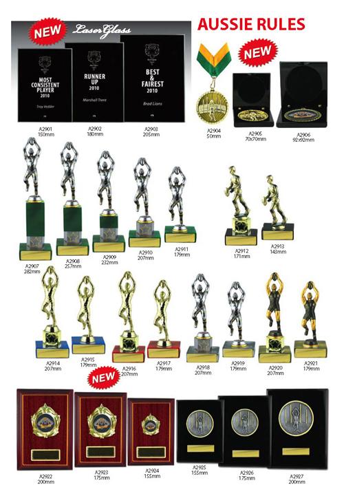 AFL Trophies 12
