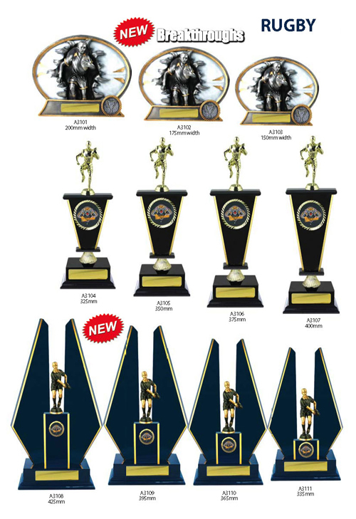 Rugby Trophies 8