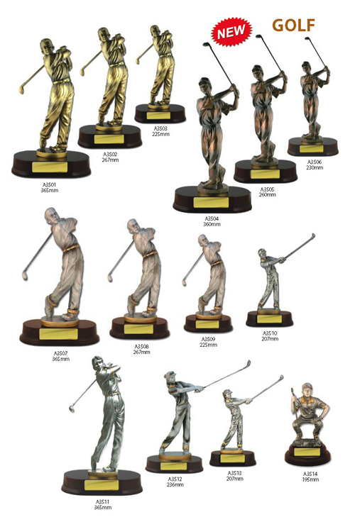 Golf Trophies 2