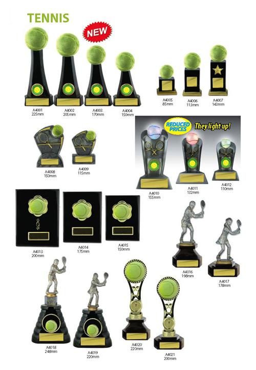 Tennis Trophies 3